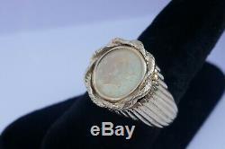 Vintage Men's 14K Yellow Gold US 1 Dollar Gold Coin Ring Size 10.25 12.8 grams