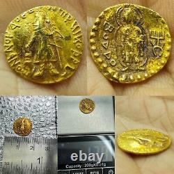 Wonderful old kushan high carat Gold rare Coin 1.39 grams